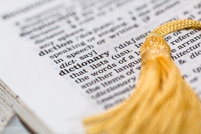 detail ve slovníku