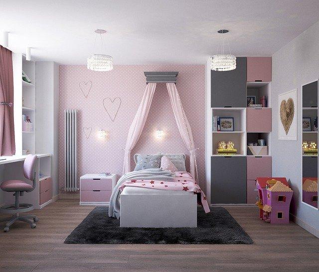 dívčí dětský pokoj